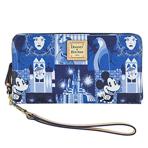 Disney Dooney & Bourke Wallet Wristlet Magic Kingdom