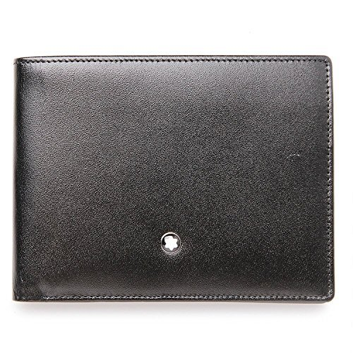 Montblanc Meisterstuck 6CC Black Leather Wallet