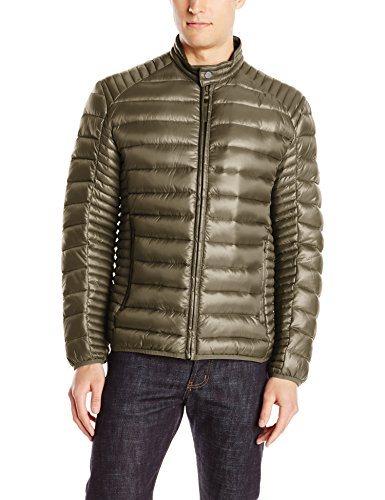 Marc New York by Andrew Marc Men's Duane Packable Down Moto Jacket