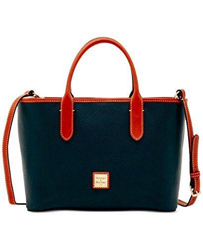Dooney & Bourke Pebble Grain Brielle Top Handle Bag
