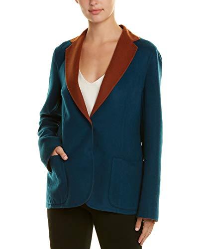 Akris Womens Cashmere Jacket, 8, Brown