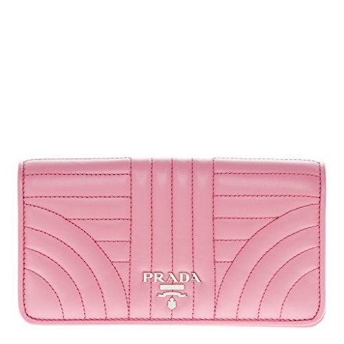 Prada Women's Leather Wallet Pink