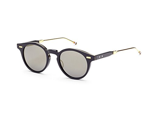 THOM BROWNE Navy18K Gold w/ Dark Grey Flash-AR Sunglasses