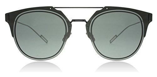 Dior Homme Composit 1.0 006 Black Composit Round Sunglasses Lens