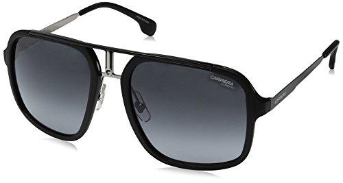 Carrera Men's Aviator Sunglasses, Matte Black Ruthenium/Dark
