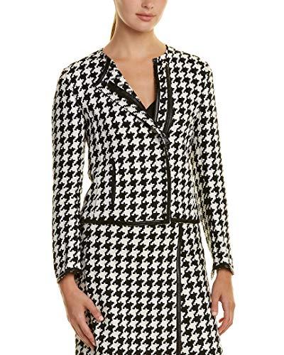 Akris Womens Linen Jacket, 10, Black