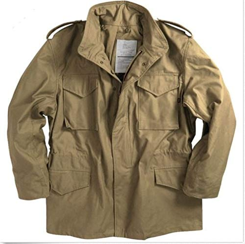 Alpha Industries Men Field Coat Khaki (L)