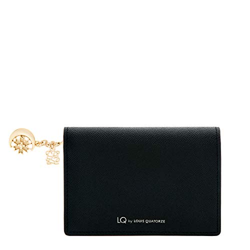 LOUIS QUATORZE Flap Bifold wallet for Women with Charm
