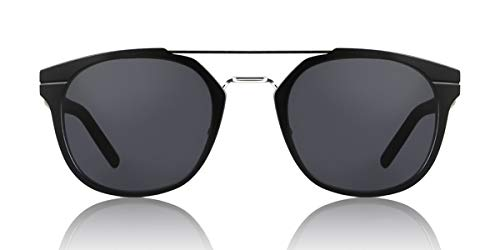 Dior Homme Black Round Sunglasses Lens Category 3 Size 52mm