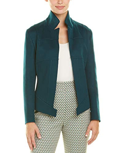 Akris Womens Cashmere Jacket, 4, Blue