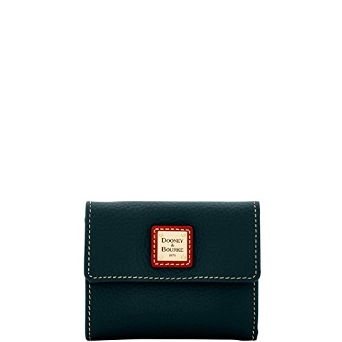 Dooney & Bourke Pebble Grain Small Flap Credit Card Wallet