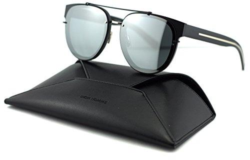 Dior Homme Black Tie Round Unisex Sunglasses
