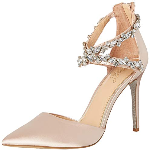 Badgley Mischka Jewel Women's Jazmine Pump, Champagne