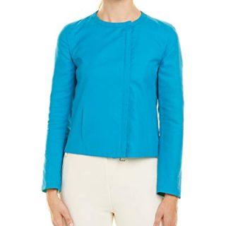 Akris Womens Jacket, 12, Blue
