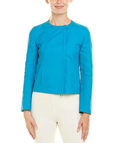 Akris Womens Jacket, 12, Blue