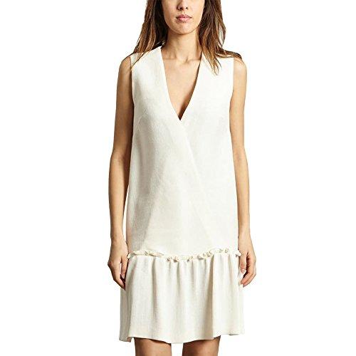 Cacharel Sleeveless Dress White Women Spring/Summer Collection