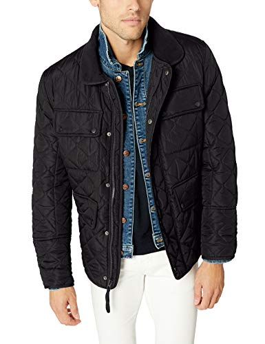 Marc New York by Andrew Marc Men's Canal, Black, Large