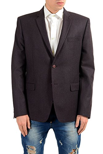 Versace Collection Men's 100% Wool Two Button Blazer Sport Coat