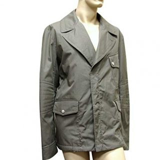 Gucci Men's Military Green Coat Jacket Blazer