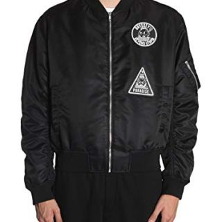 MCQ by Alexander McQueen Men's Black Polyester Outerwear Jacket