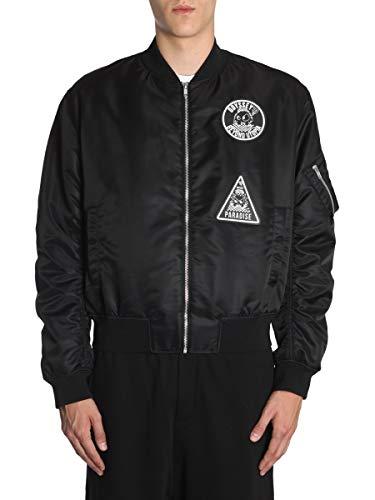 MCQ by Alexander McQueen Men's Black Polyester Outerwear Jacket