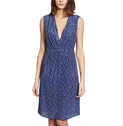Cacharel Twilight Dress Summer Collection Women Teal Blue