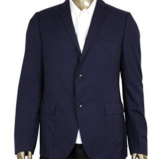 Gucci Formal 2 Buttons Blue Poly/Wool / Elastane Jacket