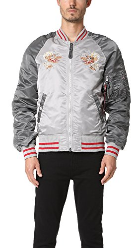 Alpha Industries Men's MA-1 Double Dragon Souvenir Jacket