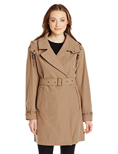 Marc New York by Andrew Marc Women's Mid-Length Belted Trench