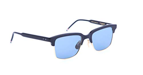 THOM BROWNE Sunglasses Navy-18K Gold/Blue-AR 51mm
