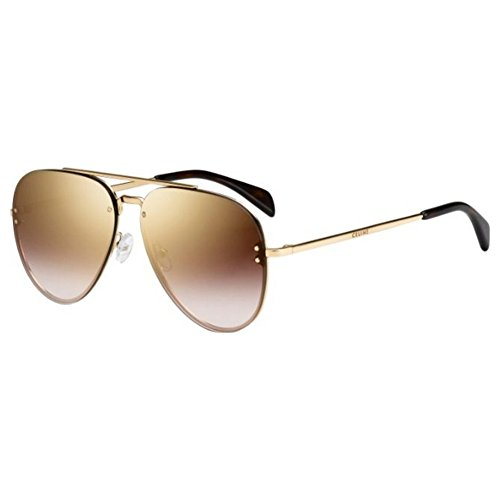 New Celine Sunglasses Men Aviator Gold 58mm