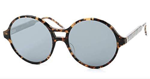 Thom Browne Tokyo Tortoise Sunglasses w/Dark Grey Silver Flash Mirror
