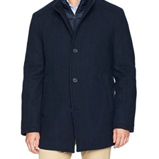 Marc New York by Andrew Marc Men's Linden Superior Wool Car Coat