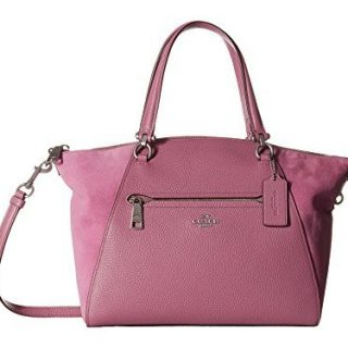 COACH Women's Prairie Satchel in Mixed Leather