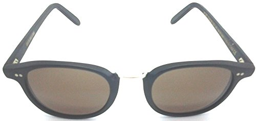 Cutler and Gross Black Round Sunglasses