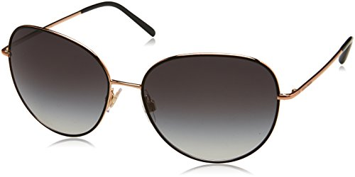 Dolce & Gabbana Women's Wire Wrapped Sunglasses, Matte Black/Grey