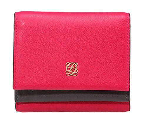 LQ LOUIS QUATORZE Color Block Mini Bifold Flap Wallet