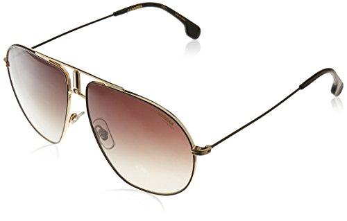 Carrera Men's Bounds Aviator Sunglasses, Black Gold/Brown Gradient, 62 mm