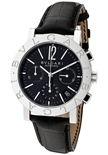 Men's Bulgari Bulgari Mechanical/Automatic Chronograph Black