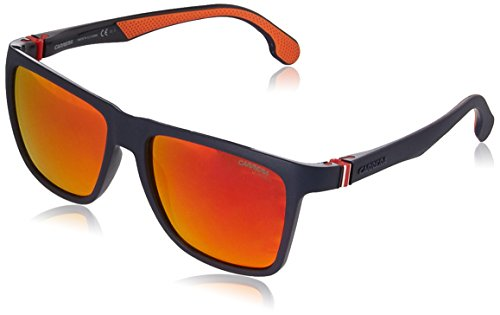 Carrera Men's Square Sunglasses, Matte Blue, 56 mm