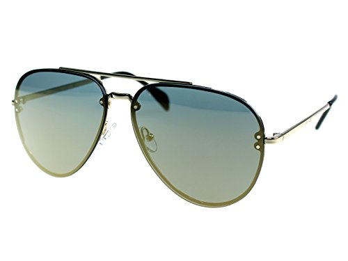 Celine Mirror Gold Metal Aviator Sunglasses