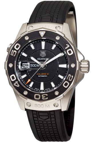 TAG Heuer Men's Aquaracer Calibre 5 Automatic 500M Black