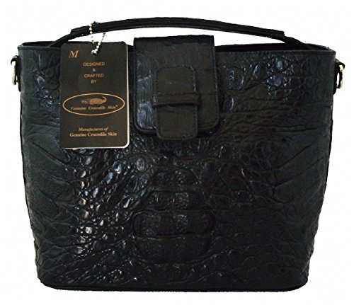 Authentic M Crocodile Skin Womens W/Strap