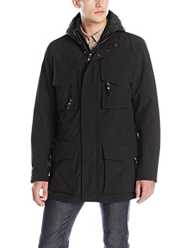 Marc New York by Andrew Marc Men's Empire Bonded Rain 3-in-1 Parka