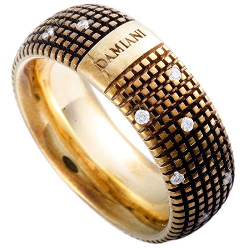 Damiani Metropolitan 18K Rose Gold and Brown Rhodium 18 Diamonds