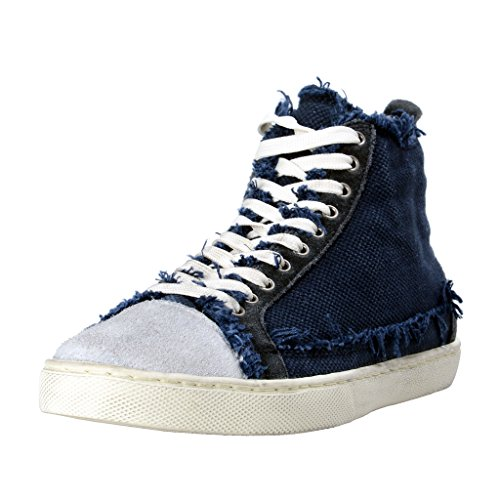 Dolce & Gabbana Men's Canvas Leather Fashion Sneakers Shoes