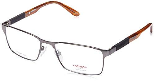 Carrera Eyeglass Frames- Matte Ruthenium Havana Frame, Lens Diameter 54mm,