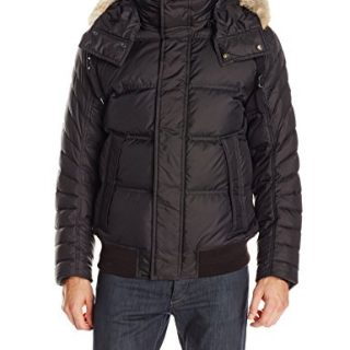 Marc New York by Andrew Marc Men's Tammany Ultra Down Bomber Jacket