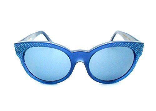 Cutler and Gross Blue Cat-eye Sunglasses
