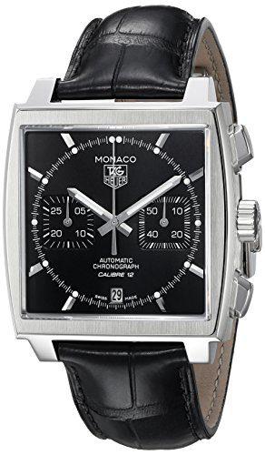 TAG Heuer Men's Monaco Calibre 12 Automatic Chronograph Watch